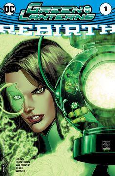 Green Lanterns: Rebirth (2016) #1 #DC @dccomics #GreenLanterns #Rebirth (Cover Artist: Ethan Van Sciver) Release Date: 6/1/2016