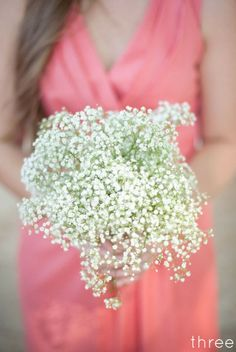 I actually really like the baby's breath I didn't think I would but it would look great with purple.