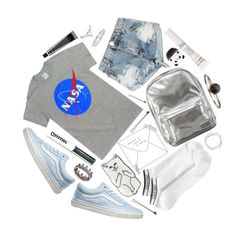 """""""reprogrammable space program"""" by supersquirrelgirlq ❤ liked on Polyvore featuring One Teaspoon, Vans, Pantone, David Jones, Topshop, Calvin Klein, Sunday Riley, L. Erickson, Tony Moly and Loree Rodkin"""