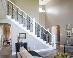 Traditional Staircase Wrought Iron Stairs Design, Pictures, Remodel, Decor and Ideas - page 39