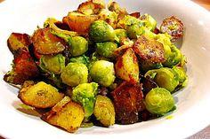 Kartoffel - Rosenkohl - Pfanne