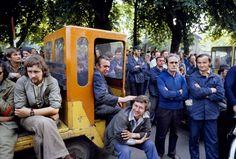 Strajk w Stoczni Lenina, Gdańsk, Sierpień 1980