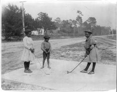 African American Junior Golfers by Black History Album, via Flickr