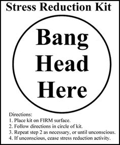 Instant Stress Relief - need this at work!