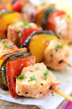 With the sun shining, check out these healthy BBQ ideas...
