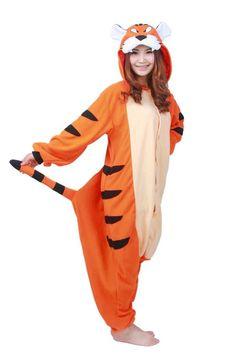 Adult Costumes, Cosplay Costumes, Tiger Costume, Unicorn Costume, Animal Pajamas, Bengal Tiger, Pajama Top, Black Stripes, Lounge Wear