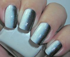 Fading nail polish ombre....beauty and cosmetics (makeup)