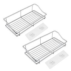 Adjustable Organizer Shelf Blesiya 2pcs Tension Shelf Closet Storage Rack