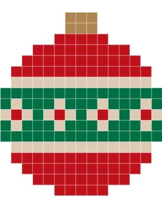 Xmas hama perler beads Christmas Perler Beads, Beaded Christmas Ornaments, Christmas Cross, Hama Beads Design, Hama Beads Patterns, Beading Patterns, Pixel Art Noel, Melting Beads, Perler Bead Art