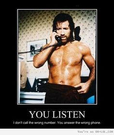 Chuck Norris jokes are almost always funny. This one really made me laugh.