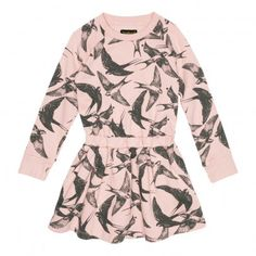 Jelly Bird Dress Pale pink  Finger in the nose