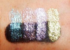 Kiss My Sparkle: Swatches: Liquid Stardusts from Darling Girl Cosmetics