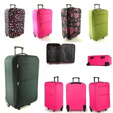 Super Lightweight Trolley Spinner Suitcase 4-wheeled PC Travel ...