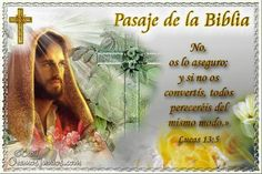 Vidas Santas: Santo Evangelio según san Lucas 13:5