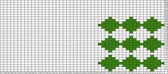 Tricksy Knitter Charts: simple harlequin pattern by pirjo