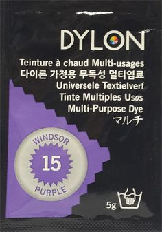 DYLON MULTI PURPOSE DYE 5 g WINDSOR PURPLE (15)