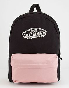 VANS 2 Tone Realm Backpack Pink