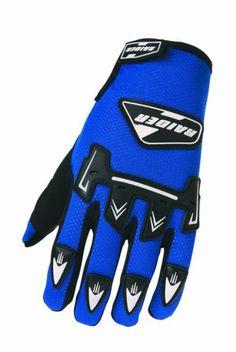 Raider MX Blue Medium Youth Gloves