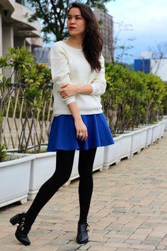The Blue Skirt