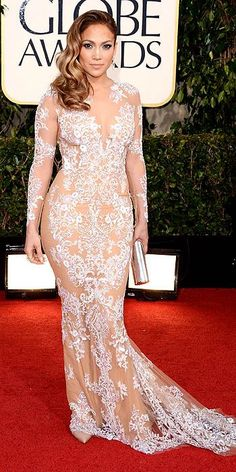 The Golden Globes 2013: Jennifer Lopez in Zuhair Murad