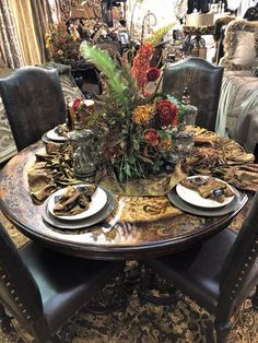Reilly-Chance Collection Designs and Manufactures an Exclusive line of Luxury Bedding, Window Treatments and Old World Home Decor. Available online and now in our New Retail Store in Bridgeport, Texas! Tuscan Furniture, Dining Furniture, Tuscan Design, Tuscan Style, Home Decor Styles, Home Decor Items, Old World Kitchens, World Decor, Tuscan Decorating