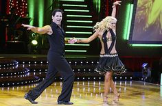 Kym Johnson & Mark Cuban dancing the Mambo.
