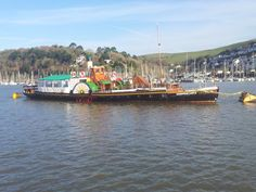 Kingswear Castle, paddle steamer back in #Dartmouth 2013 and ready for trips along the #RiverDart