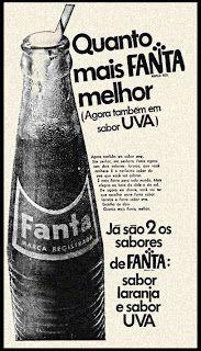 Anúncio Fanta - 1971