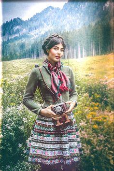 Lena Hoschek Tradition Bänderrock Rosegger