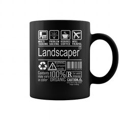Cool and Awesome Landscaper Multitasking Job Mug Shirt Hoodie