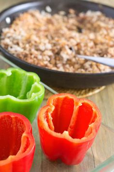 How To Bake Stuffed Peppers: Four Methods