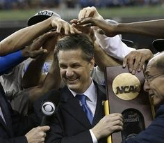Congratulations Coach Calipari and to your Kentucky Wildcats for winning the 2012 NCAA Men's Basketball Championship!