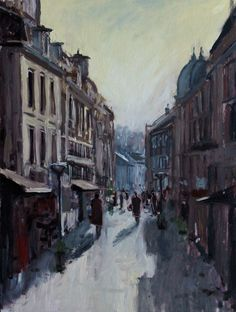 Brive, Midday Light In The Dark, France, Pictures, Painting, Photos, Painting Art, Paintings, French, Painted Canvas