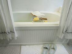 bead board bathtub home-and-garden