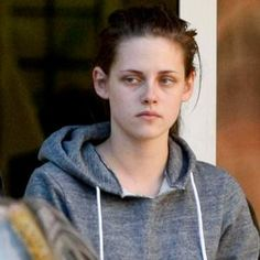 Kristen Stewart without makeup before and after