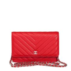 78913e56817f Wallet on Chain leather crossbody bag Chanel Woc, Chanel Wallet, Leather  Crossbody Bag,