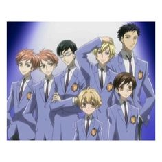 Image for Ouran High School Host Club Series 1 Part 2 (2 Disc) ❤ liked on Polyvore featuring ouran host club