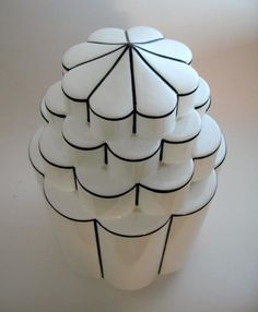 Art Deco Skyscraper Canopy Lamp Shade | From a unique collection of antique and modern more lighting at https://www.1stdibs.com/furniture/lighting/decorative-lighting-lamps/