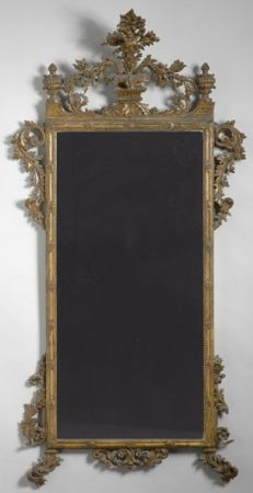 Italian Neoclassical Gilt-Wood Mirror   Late 18th/early 19th century