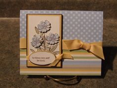 Be Kind! by happyscrapper5 - Cards and Paper Crafts at Splitcoaststampers