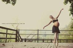 Bailarina Gestante...