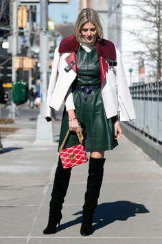 New York Fashion Week - Best streetstyle looks (6) - Elle.ro