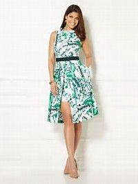 Image result for ny and company prints eva mendes collection maria dress