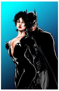 Batman & Catwoman - Damon Bowie