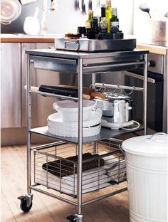 GRUNDTAL kitchen trolley