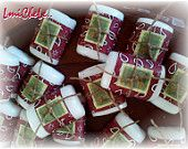 Handmade Bar Soap Party Favor Soap Bridal or Baby Shower Soap Western Cowboy Cowgirl Theme with Name Tags