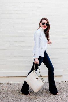 Bows & Sequins Tweed Jacket
