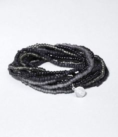 SEED BEAD STRETCH BRACELET SET at Express