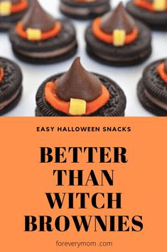 What I love most about these Halloween snack ideas is that they are easy! And so creative!#halloweentreats #halloweensnacks #halloweentheme #halloweenparty #halloweenfood Halloween Themed Food, Halloween Snacks For Kids, Holiday Snacks, Halloween Appetizers, Homemade Halloween, Halloween Desserts, Halloween Ideas, Christmas Snacks, Halloween Games