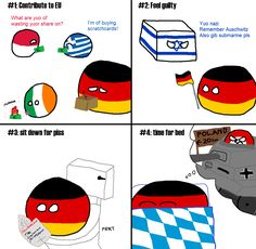 A typical day for Germany